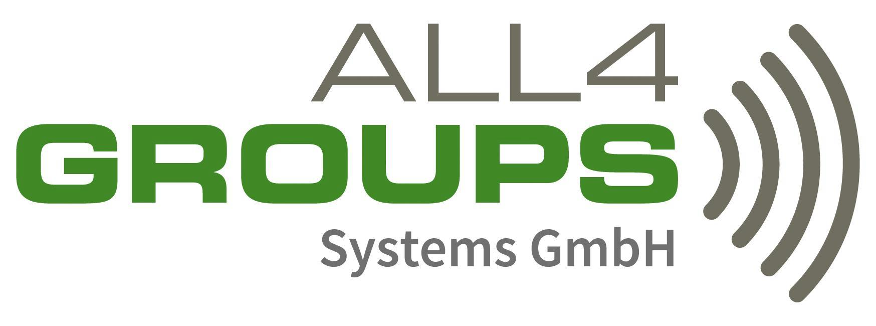 Logo ALL4GROUPS SYSTEMS GmbH